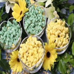 Receita de Pipoca verde e amarela