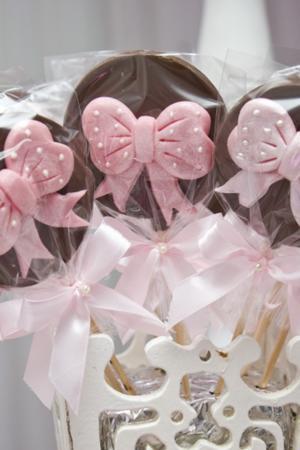 Receita de Pirulito de Chocolate com Biscoito Maizena Ou Maria