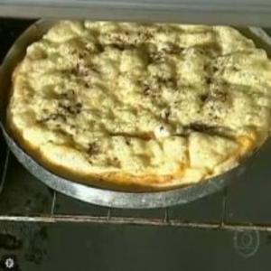 Receita de Pizza com geléia de mangaba do Globo Rural