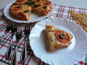 Receita de Pizza de Macarrão