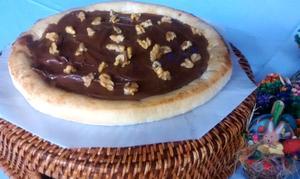 Receita de Pizza de Nutella