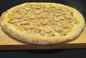 Receita de Pizza de Paçoca Cremosa
