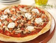 Pizza de Shitake com Massa de Alecrim
