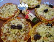 Pizza Divertida com Pão Sírio