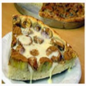 Receita de Pizza doce com banana e leite condensado