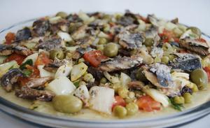 Receita de Pizza Picante de Sardinha