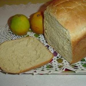 Receita de Pão branco na máquina de pão