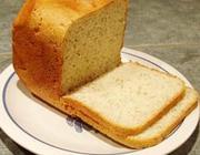 Pão de alho na máquina de pão