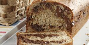 Receita de Pão de banana com chocolate