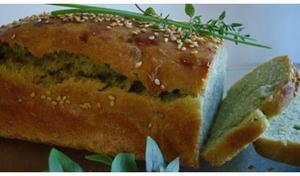 Receita de Pão de Bolacha com Molho de Ervas