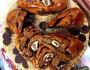 Pão de chocolate com bombom