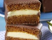 Pão de Mel com Recheio de Chocolate Branco