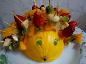 Receita de Salada de Frutas Porco Espinho de Melão