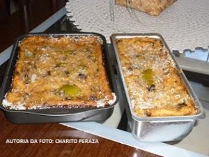 Receita de Pudim de Pão Velho ao estilo Camagüeyano