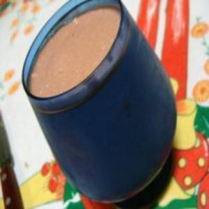 Receita de Pudim Diet de Morango