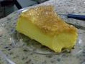 Receita de Pudim salgado de milho e queijo