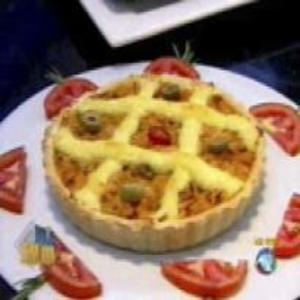 Receita de Quiche de Frango do Edu Guedes