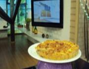 Quiche de Queijo com Bacon do Edu Guedes
