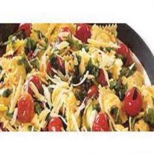 Receita de Ravióli Com Rúcula e Tomate-cereja