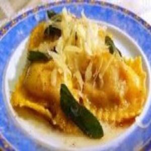 Receita de Ravióli de berinjela à moda mediterrânea