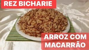 Receita de Rez Bicharie ou Arroz com Macarrão