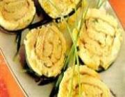 Rotolini de Fritada com Alho-Poró