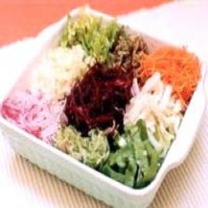 Receita de Salada Colorida de legumes