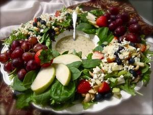 Receita de Salada Colorida de Natal