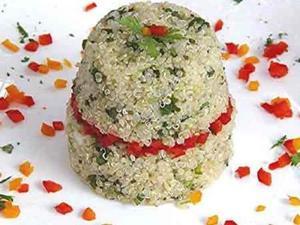 Receita de Salada com Quinua