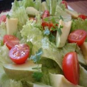 Receita de Salada de Abacate com Alface