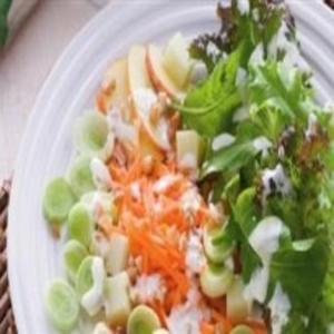 Receita de Salada de alho poró