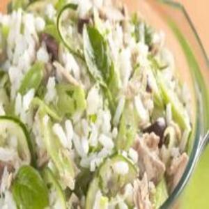 Receita de Salada de Arroz com Atum