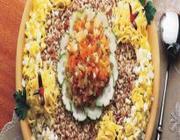 Salada de arroz com maionese