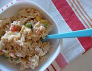 Salada de Arroz e Atum com Maionese