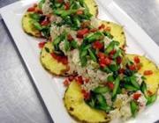 Salada de Arroz Integral à Moda Indiana