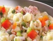 Salada de atum e pimentão