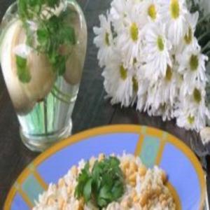 Receita de Salada de bacalhau com grão de bico