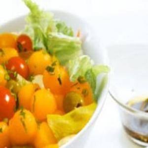 Receita de Salada de bolinhas