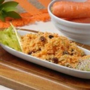 Receita de Salada de Cenoura e Uva-Passa