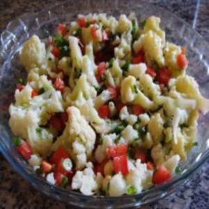 Receita de Salada de Couve-flor