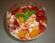 Salada de Creme de Baunilha