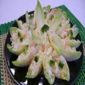 Receita de Salada de Endivia Recheada