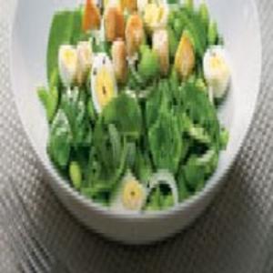 Receita de Salada de favas com vinagrete de sidra