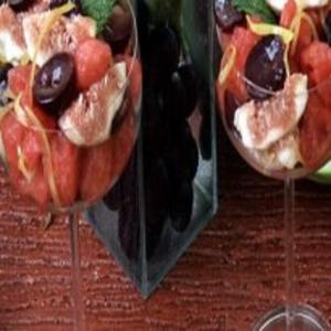 Receita de Salada de figos e melancia