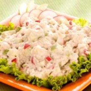 Receita de Salada de Filé de Pescada