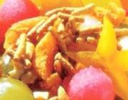 Salada de frutas crocante