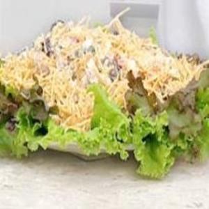 Receita de Salada de Gravatinhas