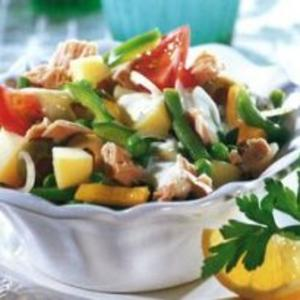 Receita de Salada de Hortaliças com Atum à Moda de Maiorca