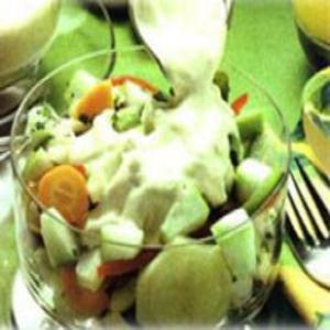 Receita de Salada de Legumes e Maçãs