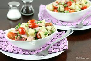 Receita de Salada de macarrão à moda
